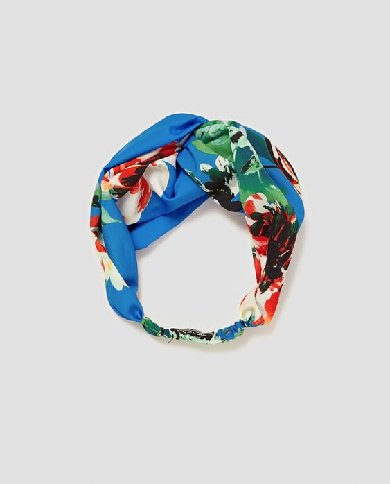 FLORAL PRINT HAIRBAND