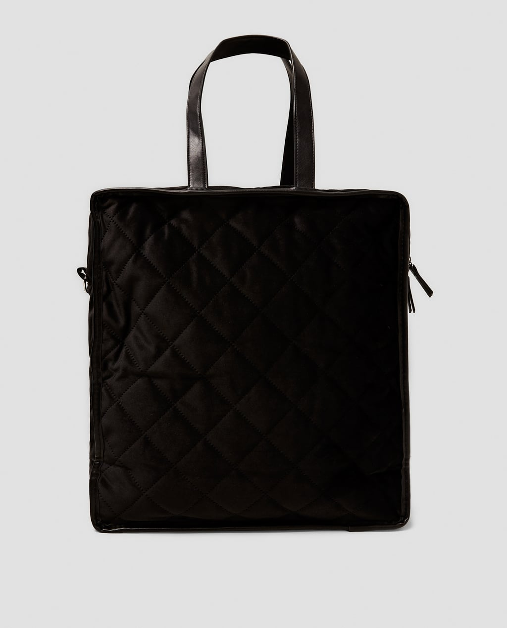 bag quilted black quilt caviar tote chanel leather img