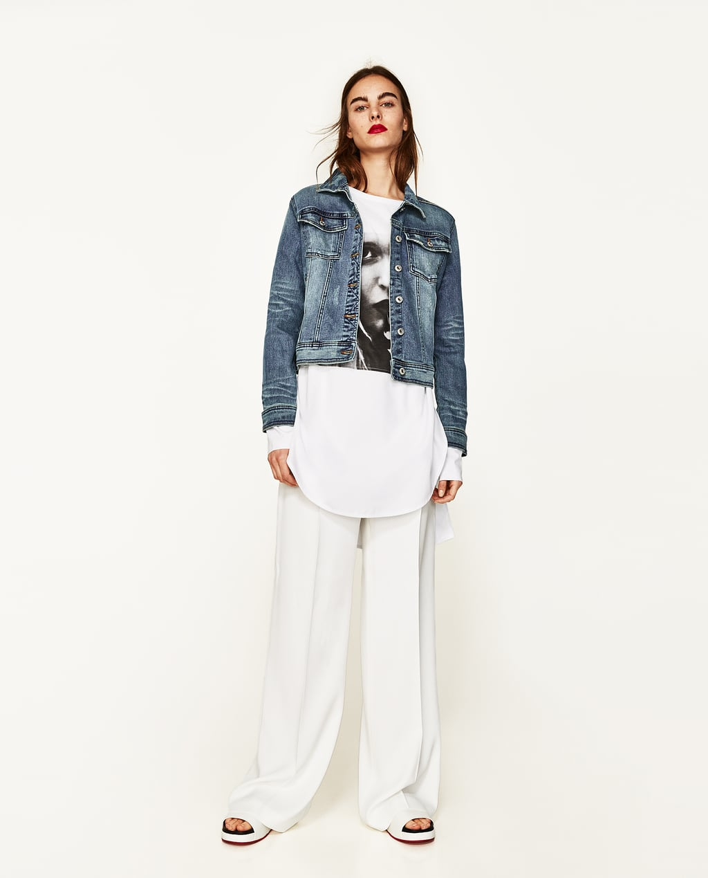 DENIM JACKET - COLLECTION-SALE-WOMAN | ZARA United States