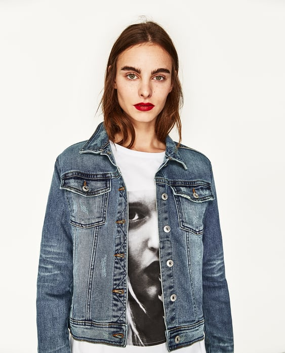 DENIM JACKET - JACKETS-WOMAN | ZARA United States
