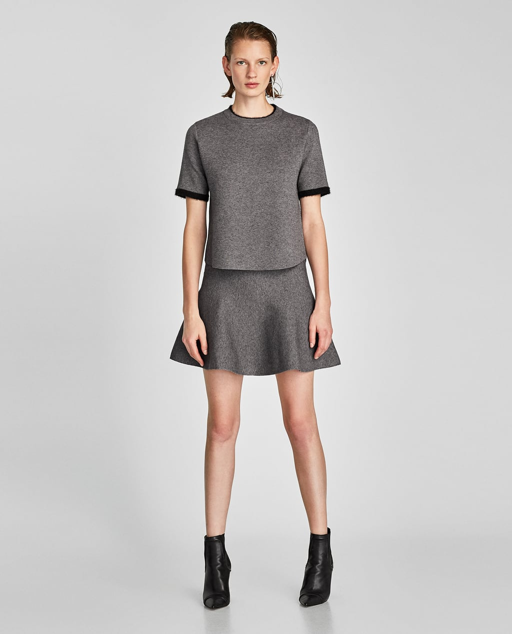 SHORT SLEEVE SWEATER - Tops-TOPS-WOMAN-SALE | ZARA United States