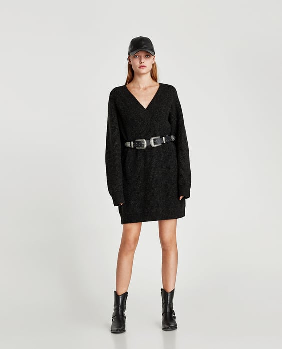 ROBE PULL OVERSIZE DÉTAIL