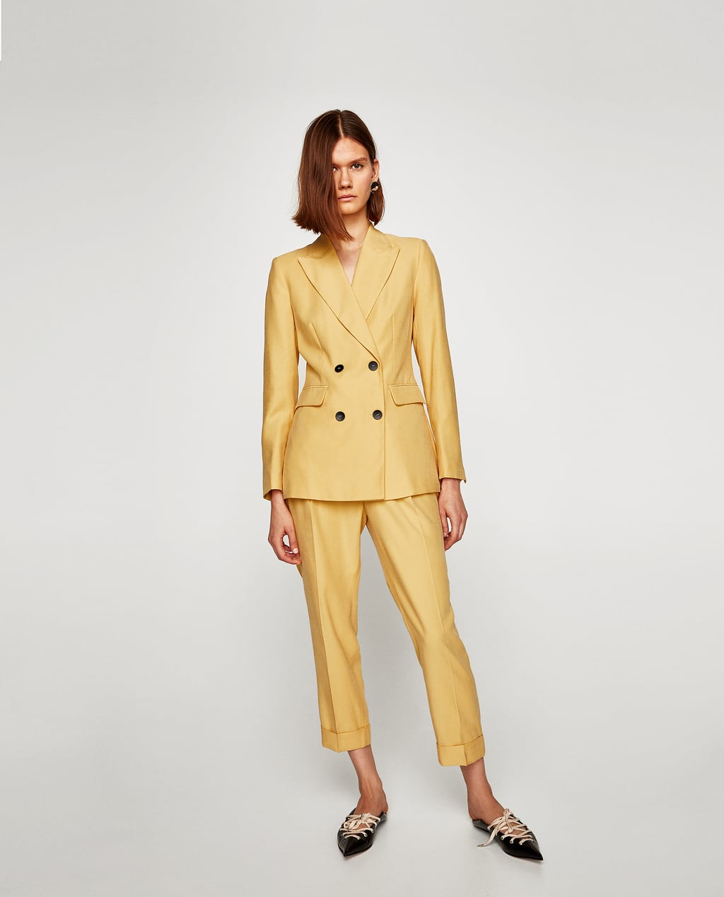 Image 1 of CASUAL SUIT TROUSERS from Zara
