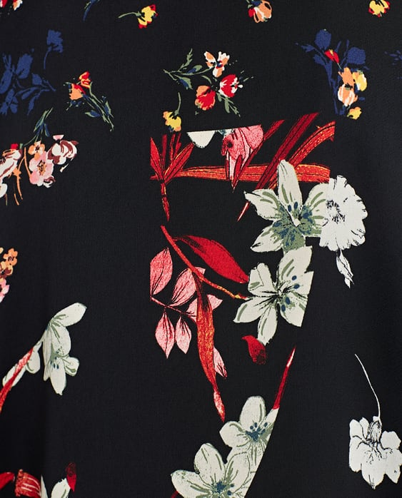 Image 7 of FLORAL PRINT DRESS from Zara