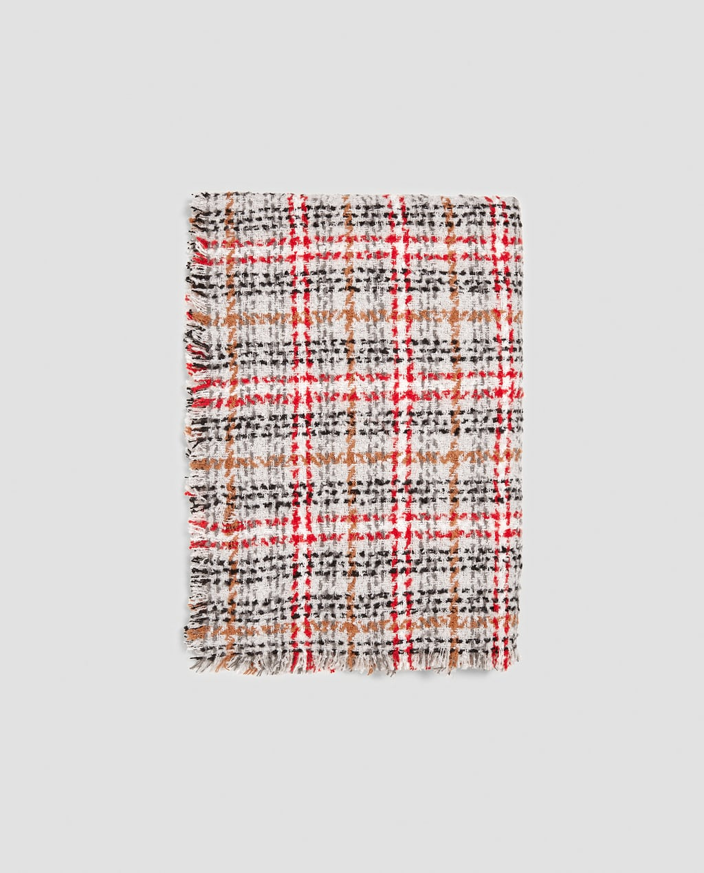 Image 1 of CHECK SCARF from Zara
