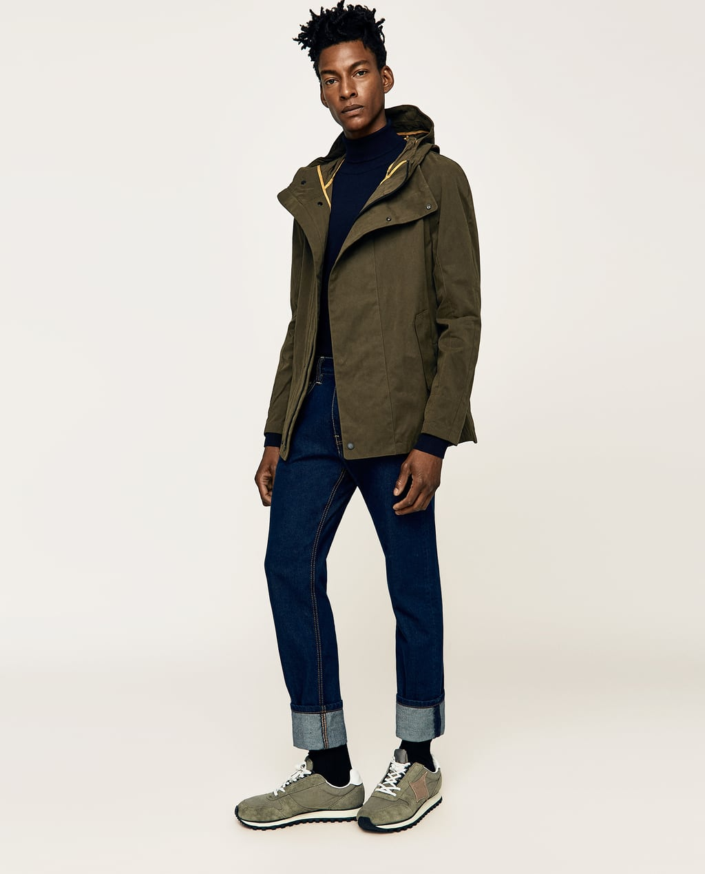 MILITARY - STYLE PARKA-View All-JACKETS-MAN-SALE | ZARA United States