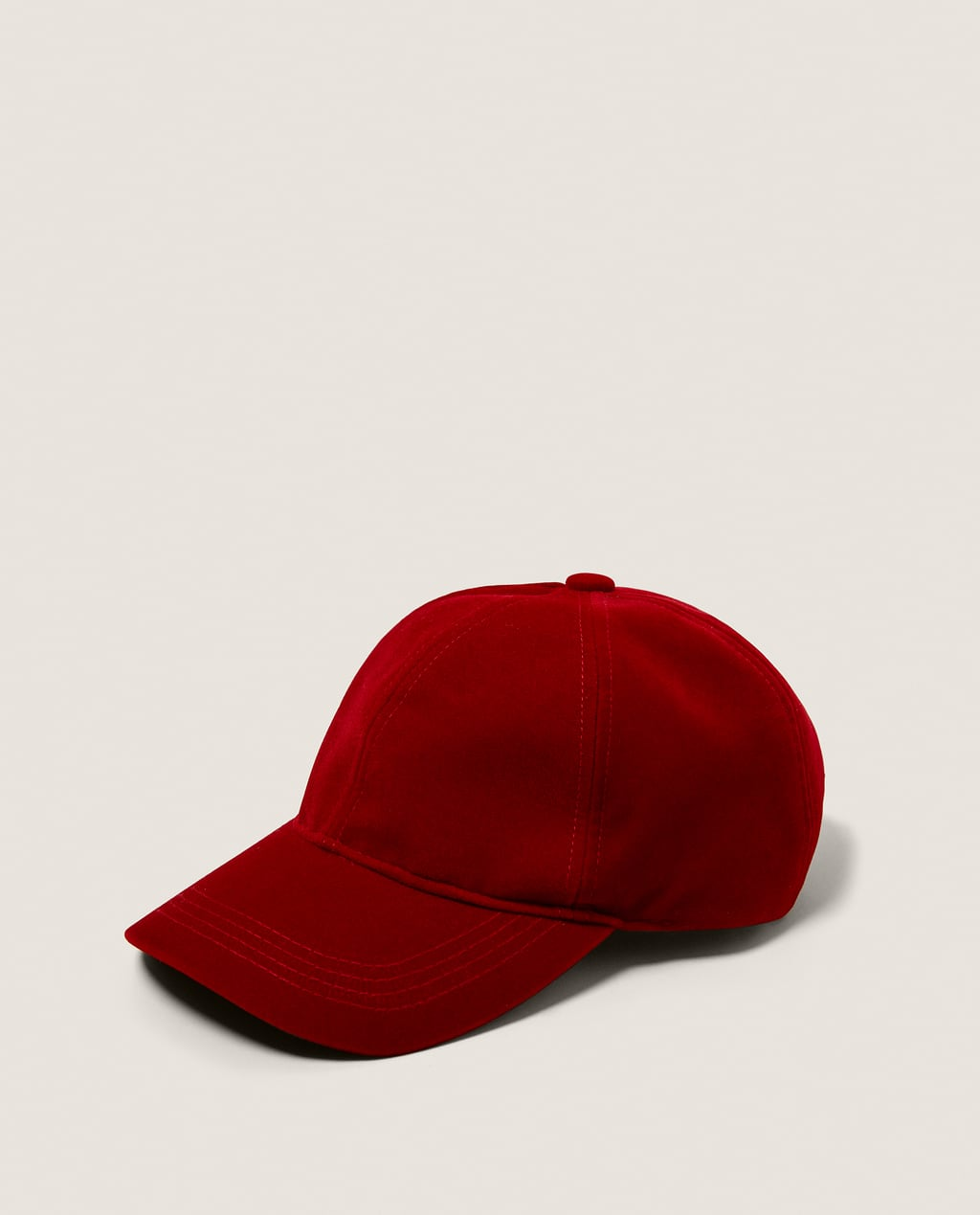 Image 1 of VELVET CAP from Zara