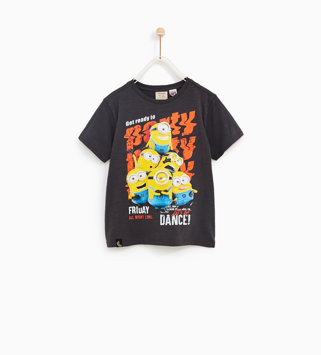 image 1 of party minions print t shirt from zara