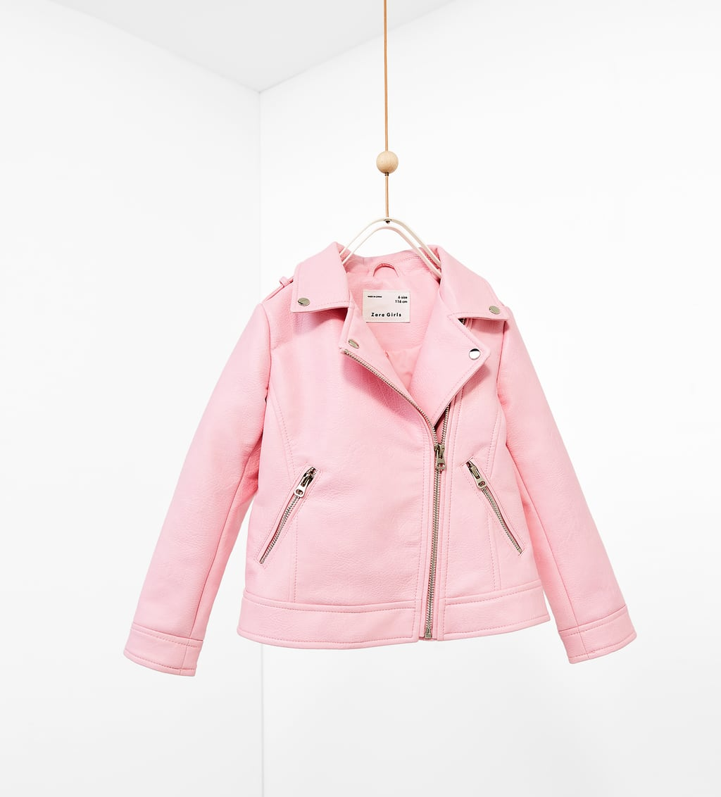 FAUX LEATHER JACKET - View all-COATS-GIRL | 5 - 14 years-KIDS ...