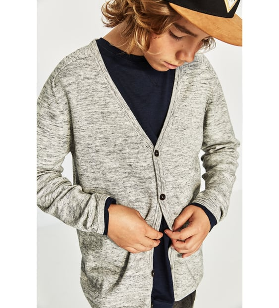 BASIC CARDIGAN - SWEATERS & CARDIGANS-BOY | 5-14 years-KIDS-SALE ...