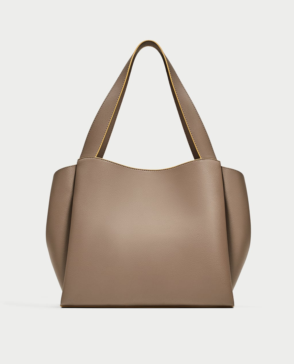 CONTRASTING TOTE BAG - View all-BAGS-WOMAN | ZARA United States