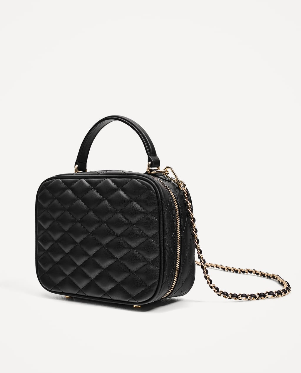 Image 1 of QUILTED CROSSBODY BAG from Zara