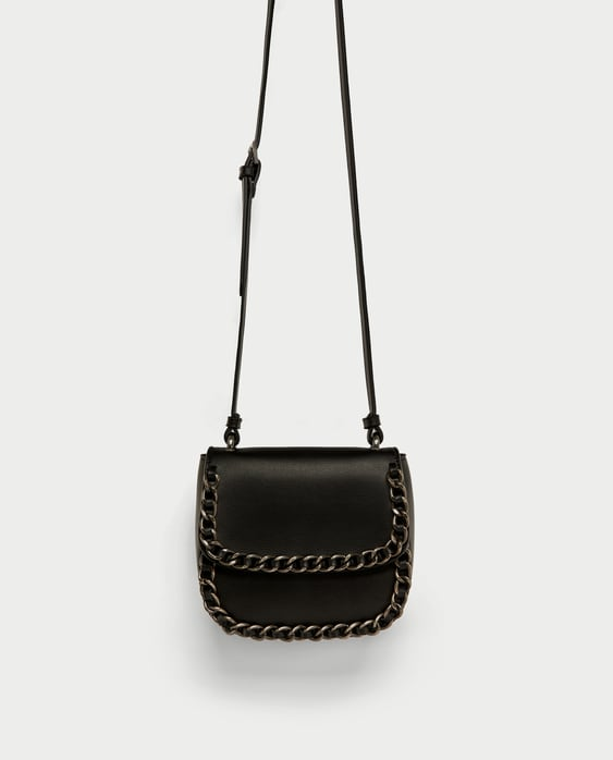 Image 2 of CROSSBODY BAG WITH CHAIN DETAIL from Zara