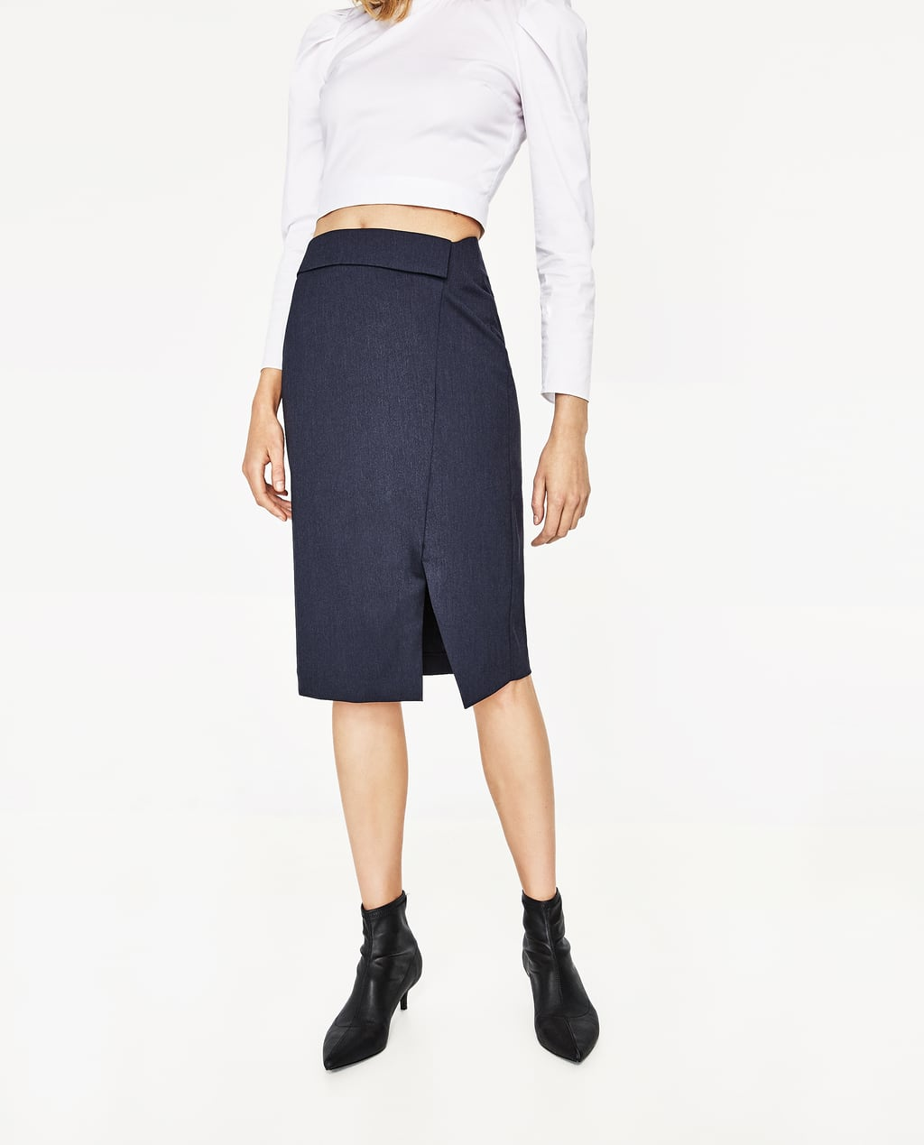 PENCIL SKIRT WITH SLIT - View All-SKIRTS-WOMAN | ZARA United States
