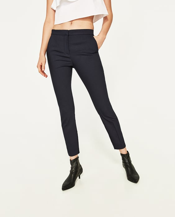 STRETCH WAIST SKINNY TROUSERS - View All-TROUSERS-WOMAN | ZARA ...