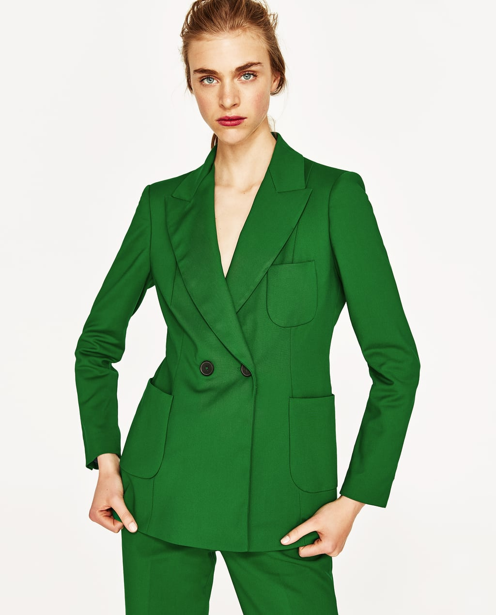 DOUBLE BREASTED JACKET - BLAZERS-WOMAN-SALE | ZARA United States