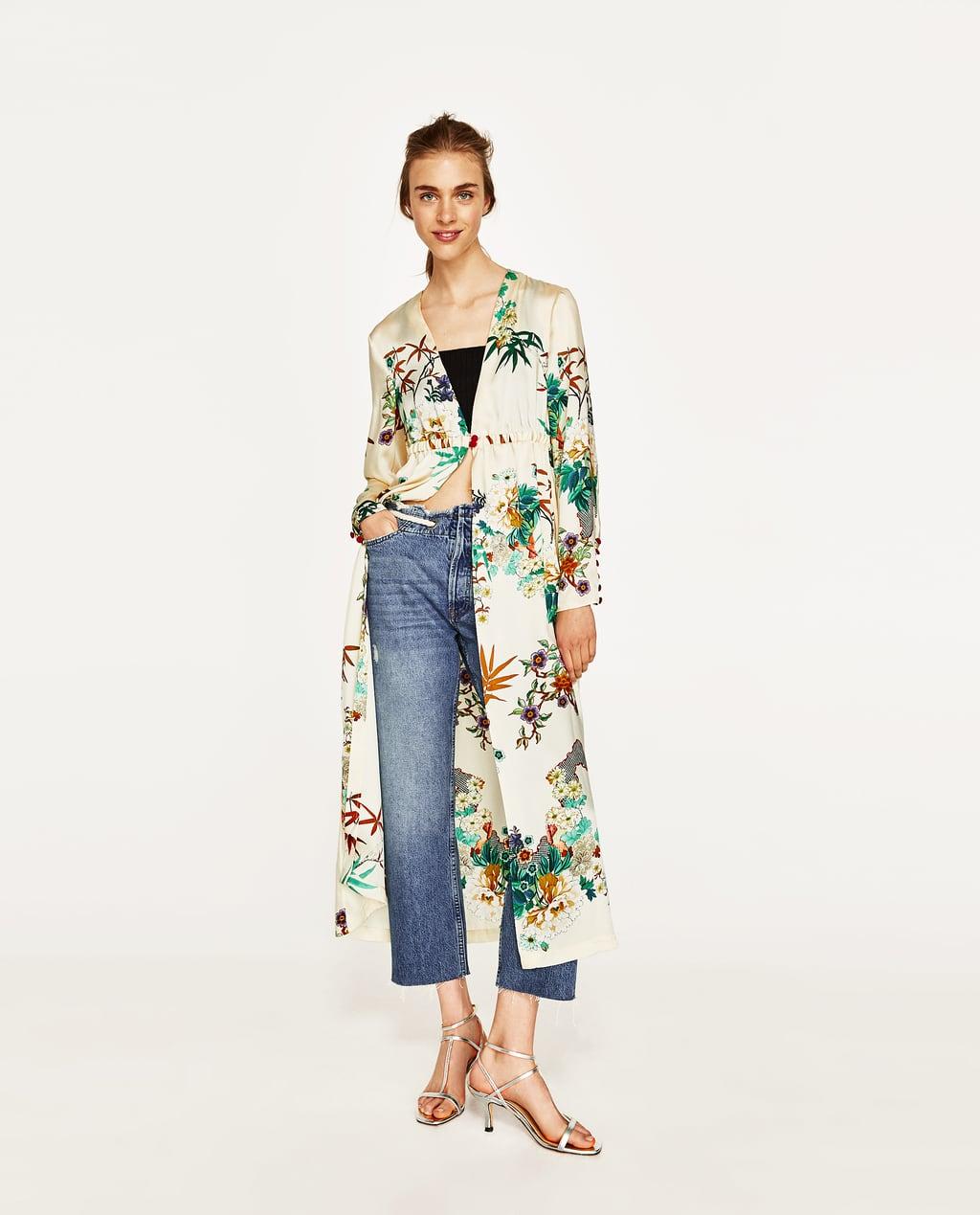 Image 1 of LONG KIMONO from Zara