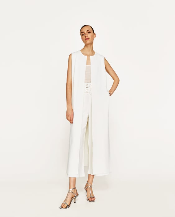 Image 1 of TROUSERS WITH SASH BELT from Zara