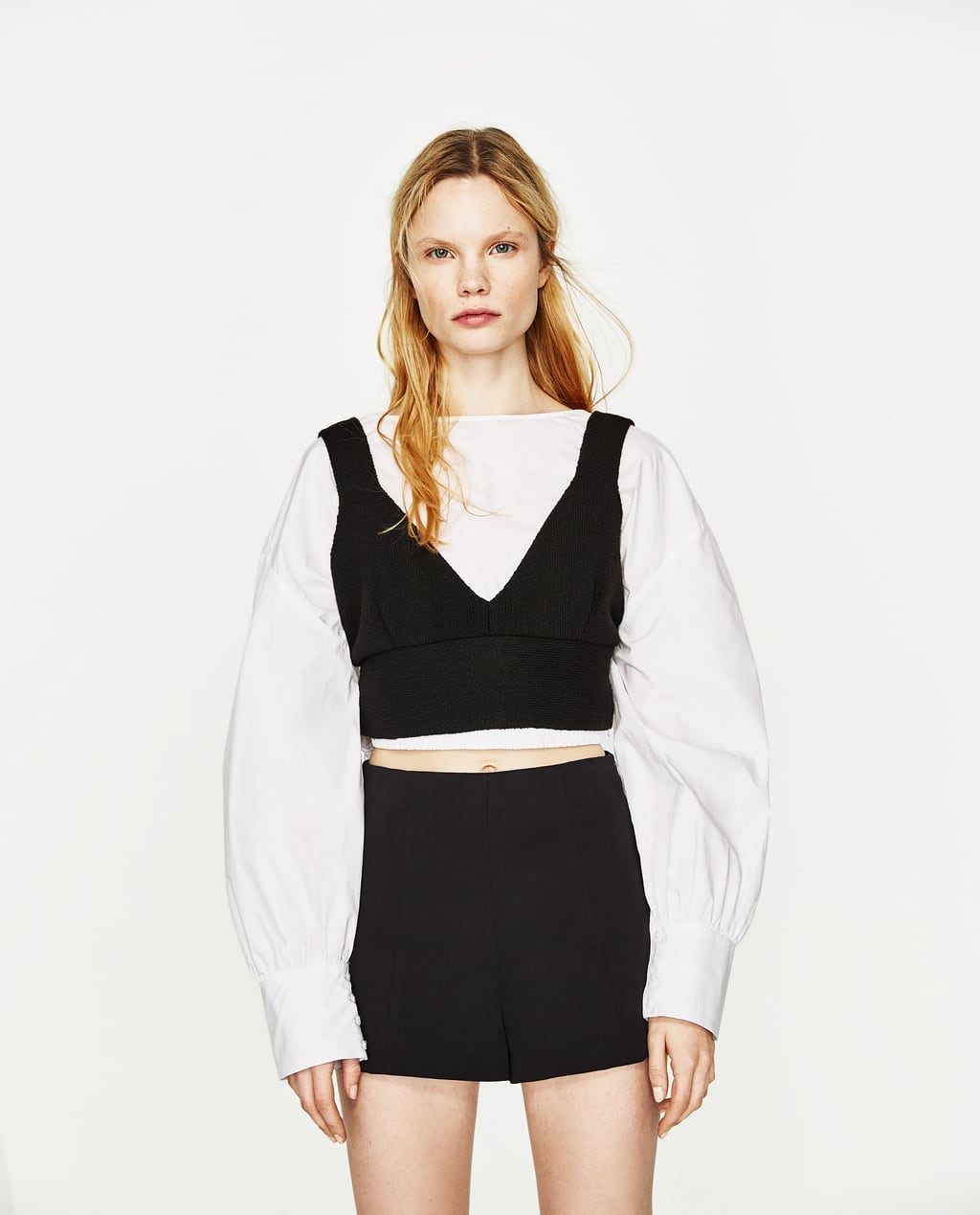 HIGH WAISTED SHORTS - COLLECTION-SALE-WOMAN | ZARA United States