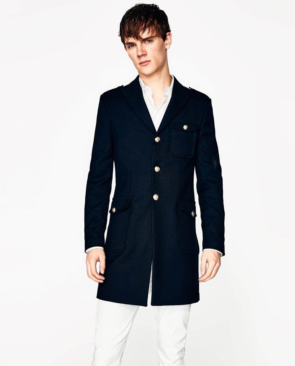 Military Coat Navy