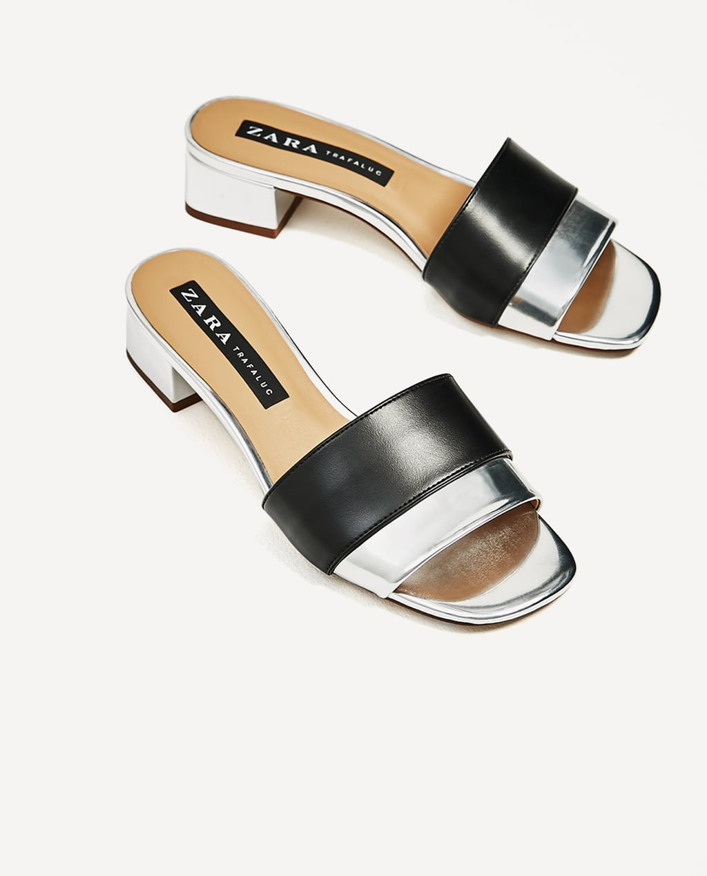 Image 3 of BLOCK HEEL SANDAL from Zara