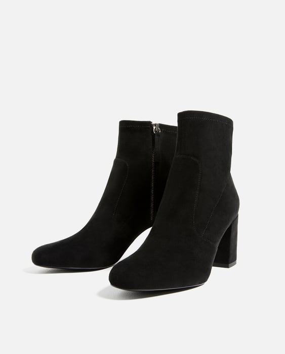 ELASTIC HIGH HEEL ANKLE BOOTS - Boots and ankle boots-SHOES-WOMAN ...
