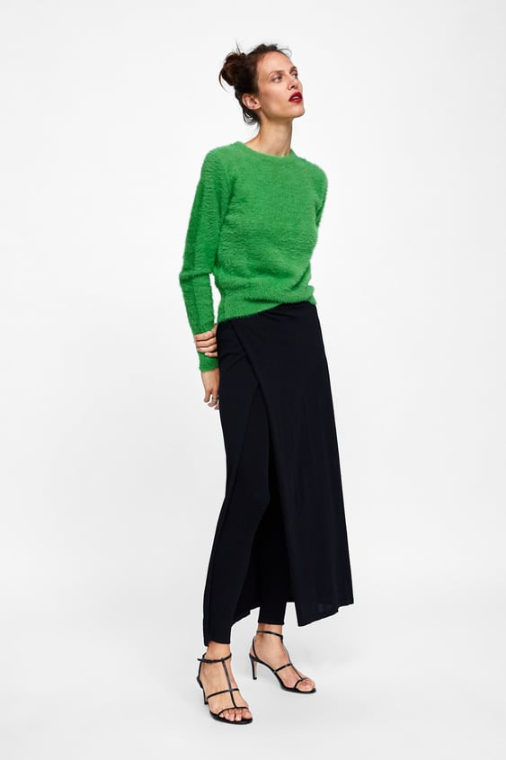 Image 1 of MINIMAL COLLECTION KNIT LEGGING SKIRT from Zara 14d4b14b973