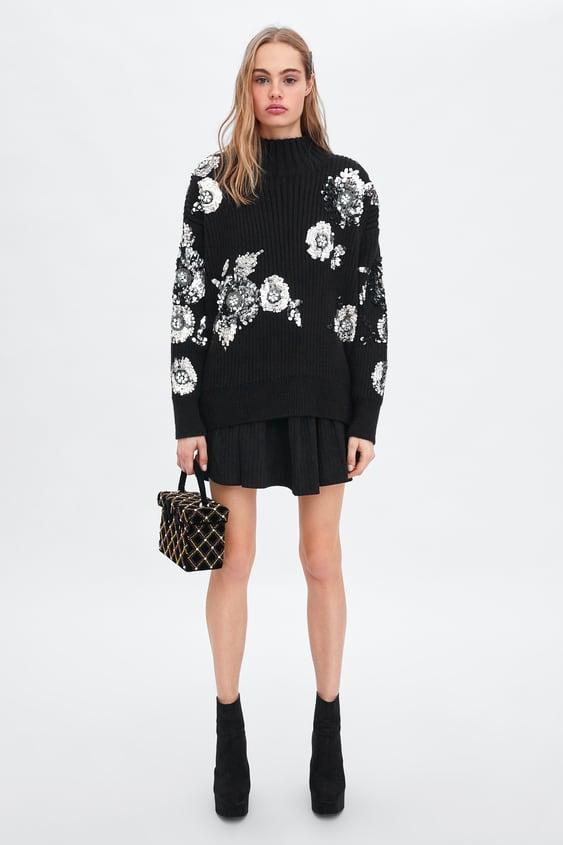 Vestido Com Folho  Vestidostrf New Collection by Zara