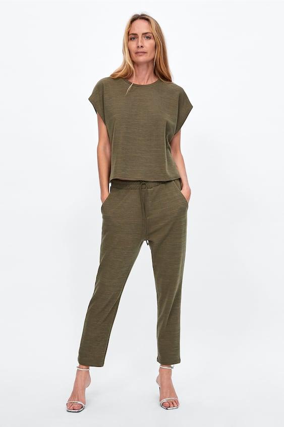 Shoptagr   T Shirt Court Tout Voir T Shirts Femme Soldes by Zara 8628d9e23248