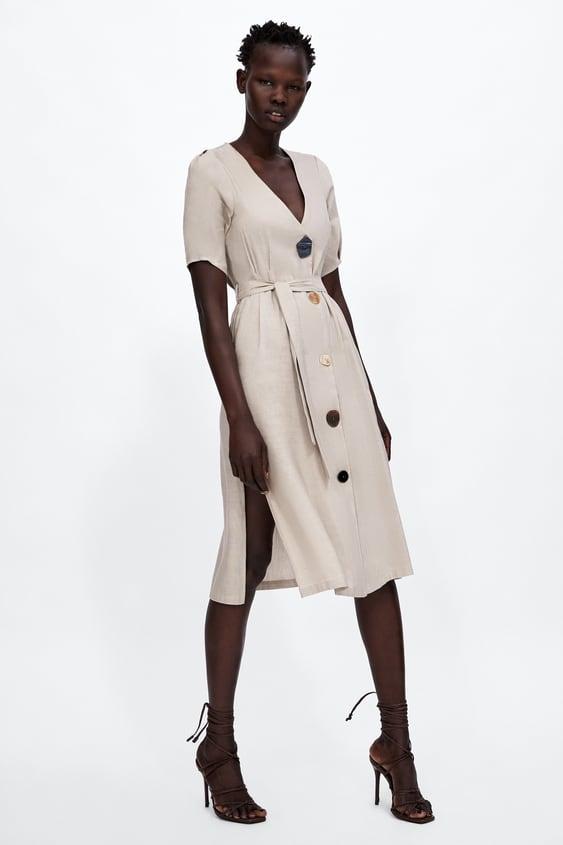 1a83673e3c6 robe-À-boutons--robes by zara