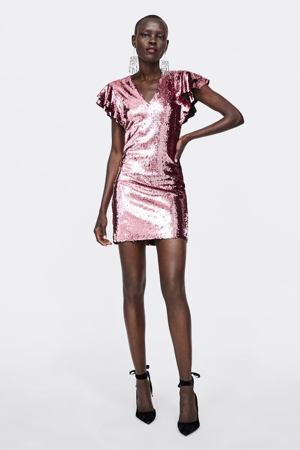 Image 1 of SEQUIN DRESS from Zara