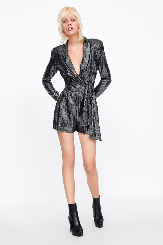 Sparkly Jumpsuit Jumpsuitswoman Sale by Zara