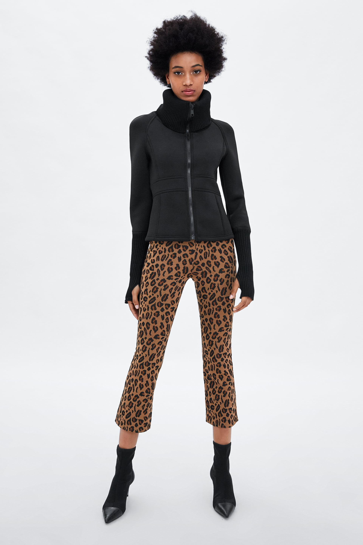d344dea3 Shoptagr | Mini Flare Pants New Intrf by Zara