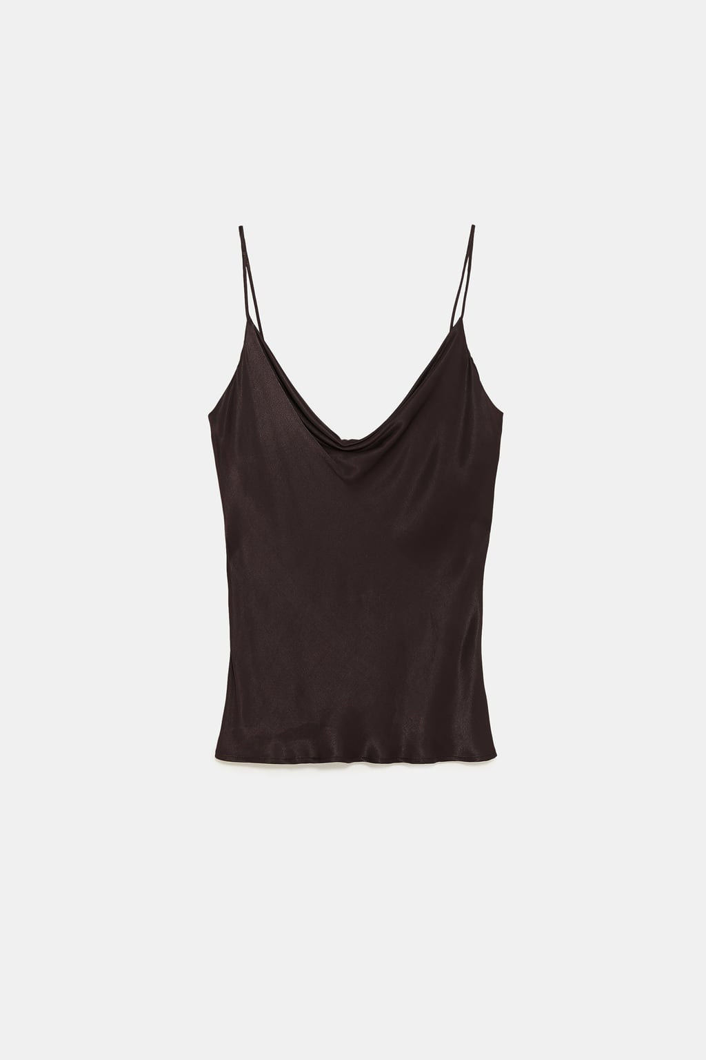 Image 8 of LINGERIE-STYLE TOP from Zara