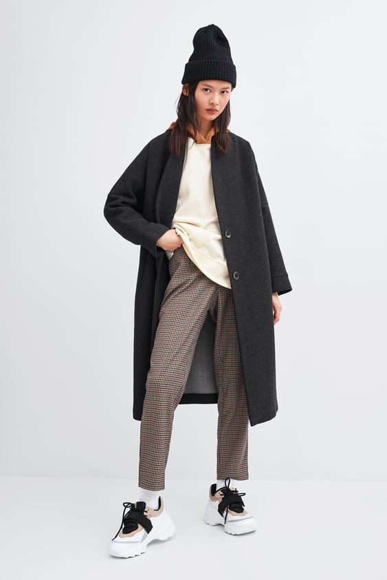 Oversized Coat  View All Outerwear Trf by Zara