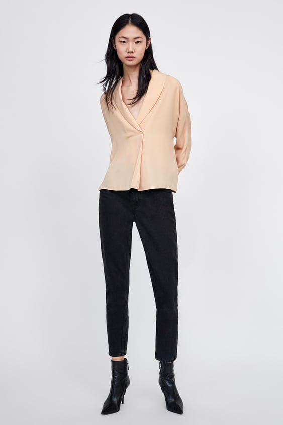 Shirt With Front Pleat View All Shirts by Zara