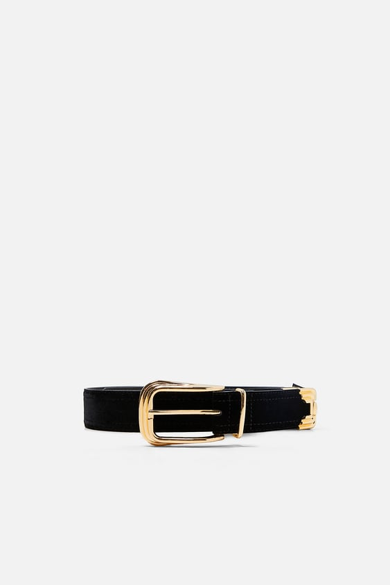 Belt With Metallic Details  View All Accessories Woman by Zara