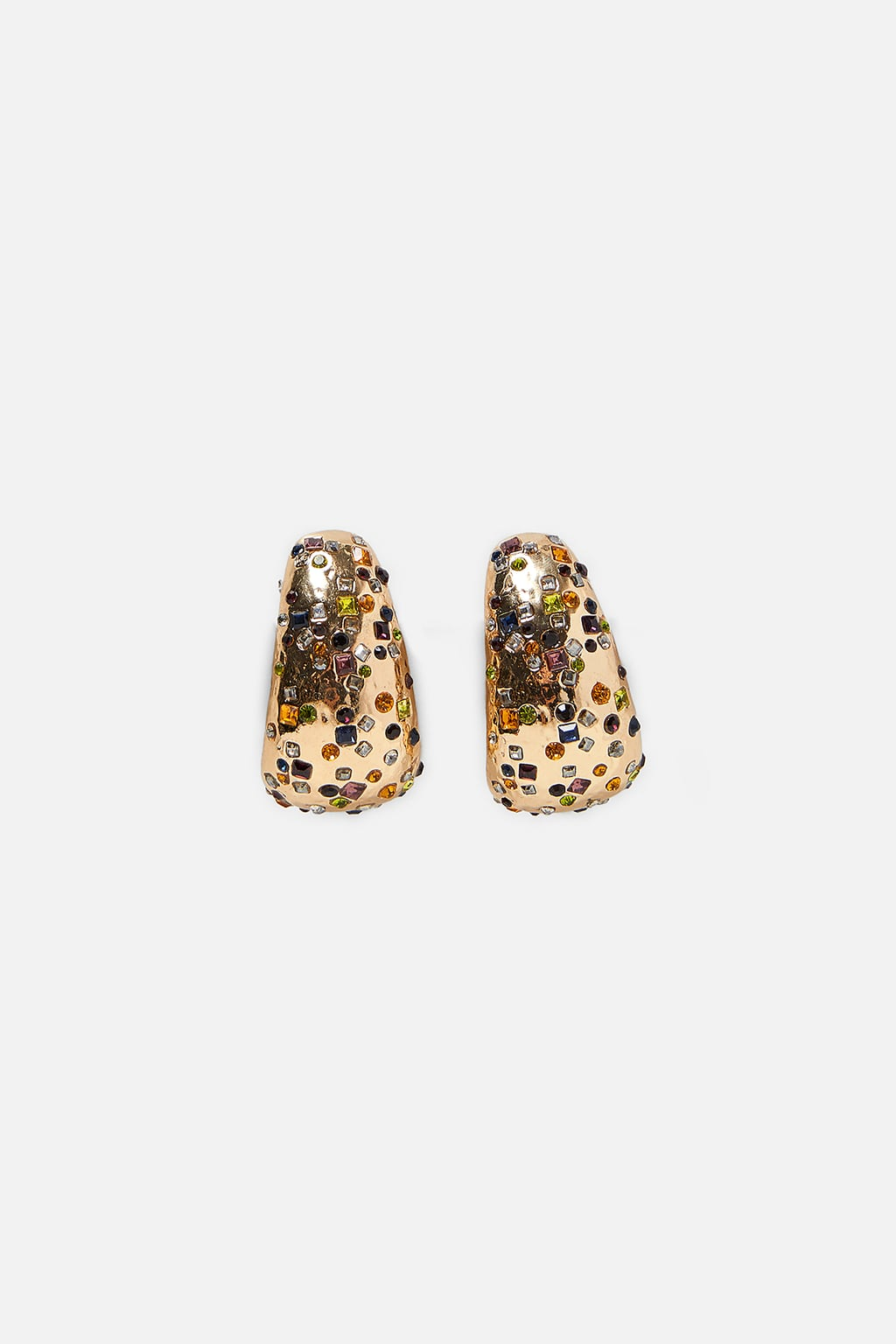 Image 1 of BEADED EARRINGS from Zara