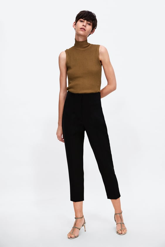 High Waist Trousers View All Trousers Woman by Zara