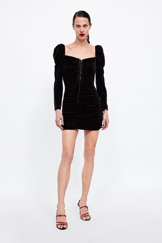 Velvet Dress  Must Havewoman by Zara