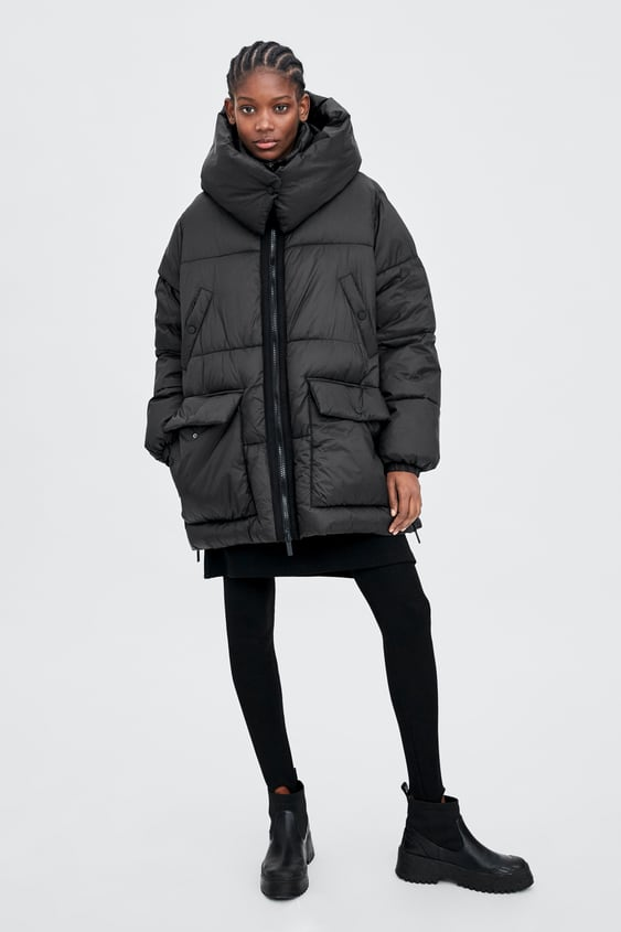 Sorona® Dupont™ Puffer Coat  View All Outerwear Trf by Zara