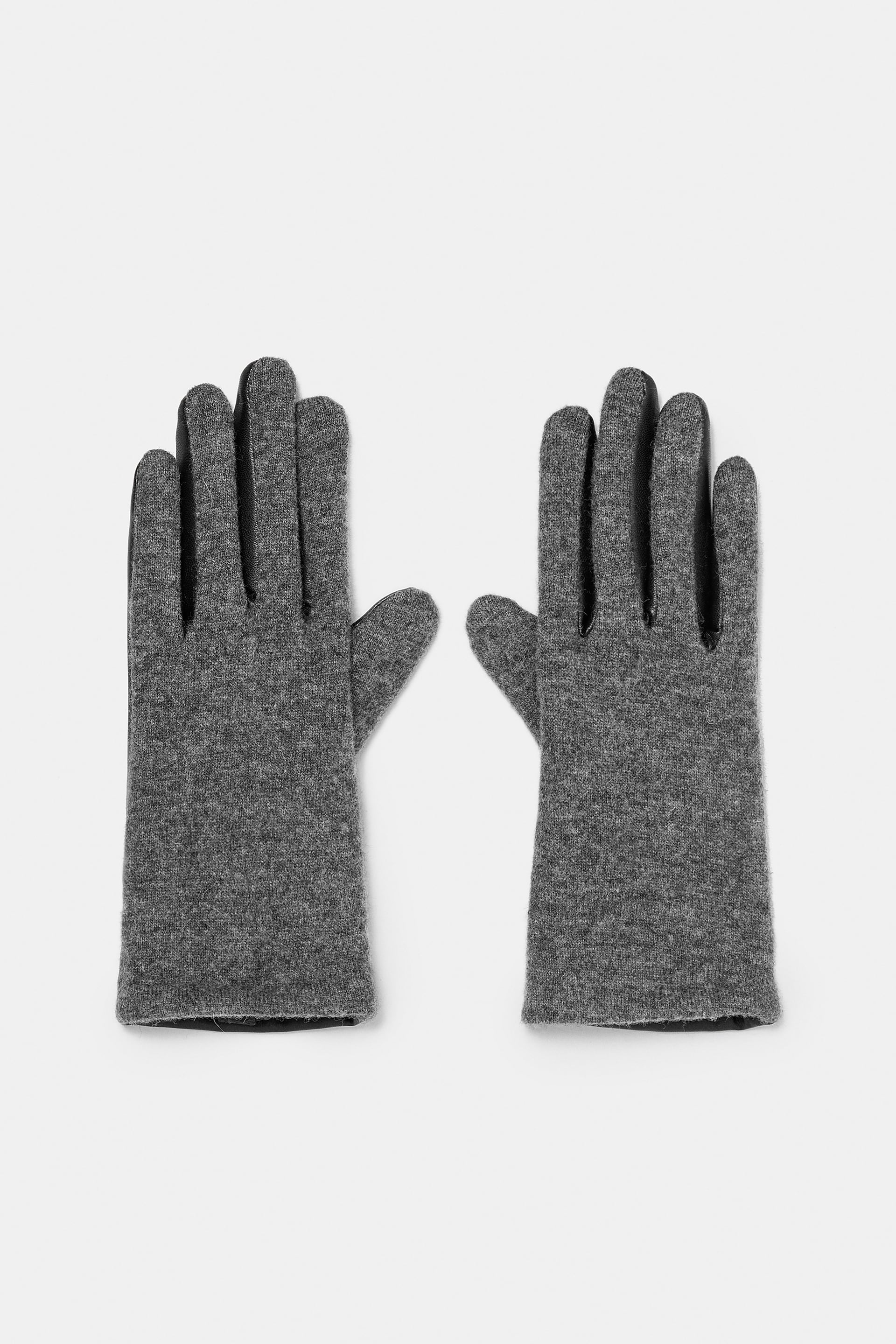 Gloves With Faux Fur Lining  View All Accessories Woman by Zara