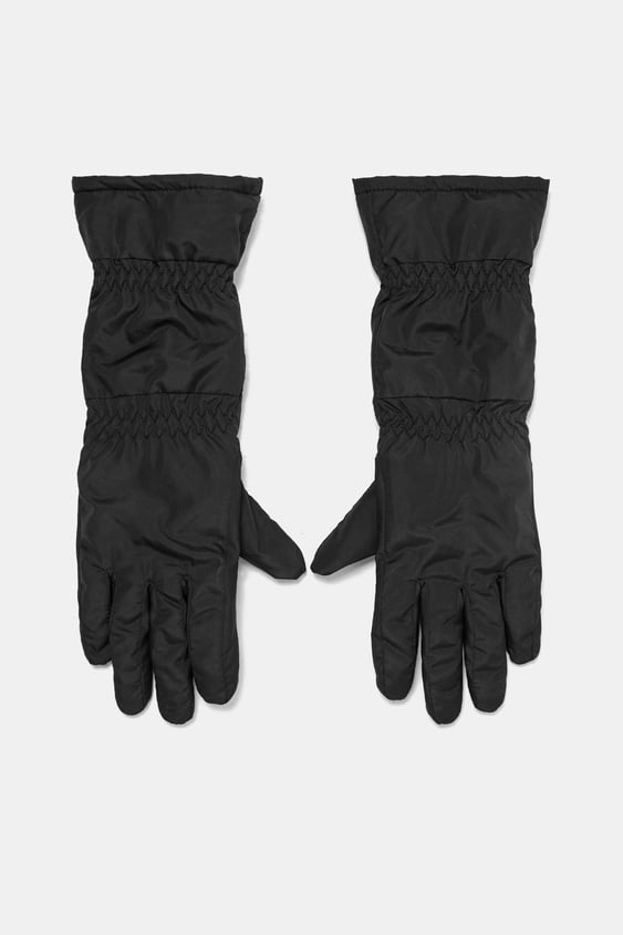 Quilted Gloves  View All Accessories Woman by Zara