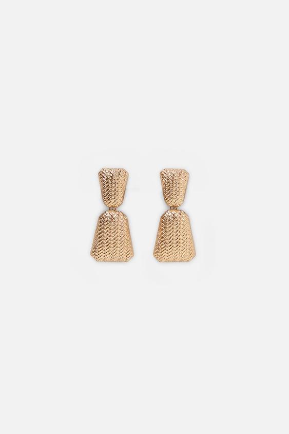 Embossed Earrings  View All Dress Time Woman Corner Shops by Zara