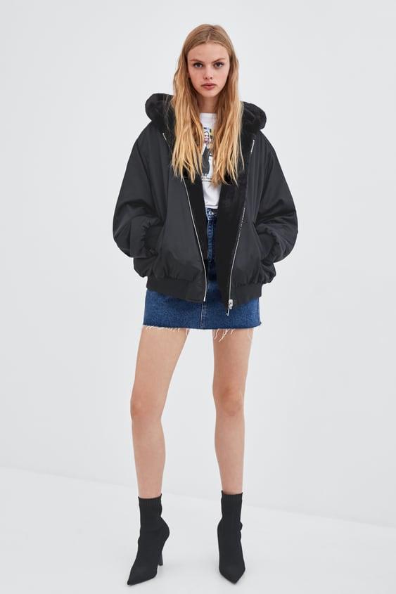 Reversible Bomber Jacket  Trending Nowwoman by Zara