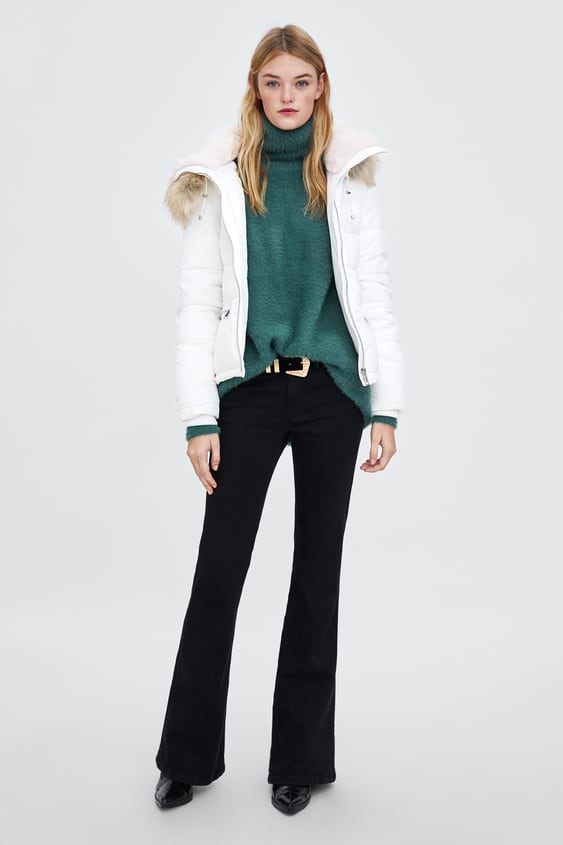 00cebd1f7 Image 1 of WATER-RESISTANT SORONA ® DUPONT™ PUFFER JACKET from Zara