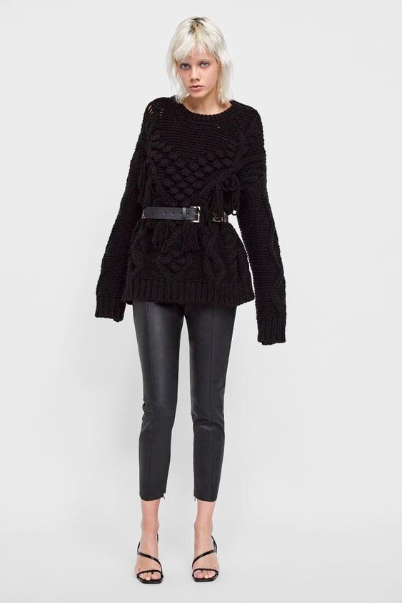 Legingi Ar Ādas Efektu  Skatīt Visu Bikses Sieviete New Collection by Zara
