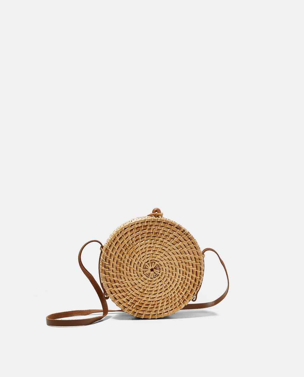 Image 1 of ROUND BAG from Zara