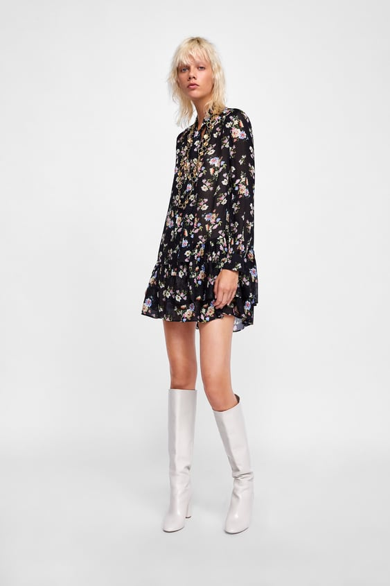 76f24296db6 FLORAL PRINT TUNIC - View all-DRESSES-WOMAN | ZARA South Africa