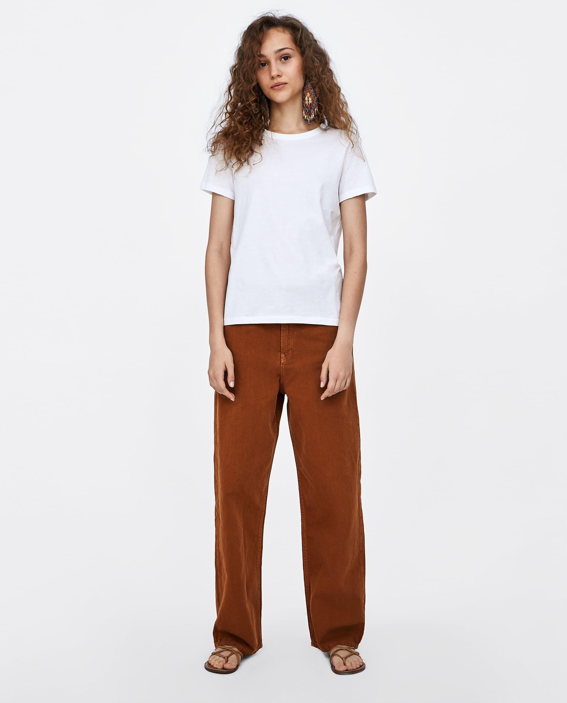 faded-basic-t--shirtshort-sleeve-t-shirts-woman by zara